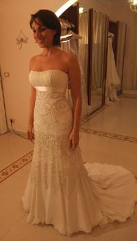 abito sposa Anna Tumas