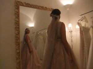 abito romantico sposa